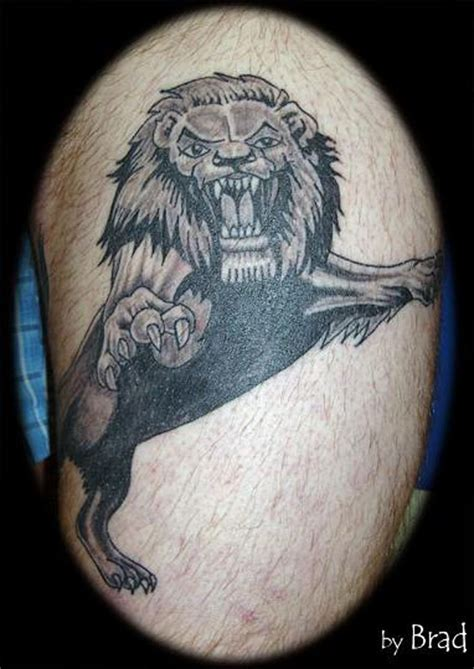 millwall lion tattoo google search ink pinterest
