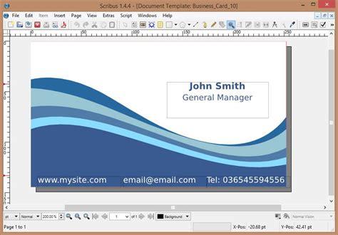 scribus card template scribus a top notch freeware desktop publishing program