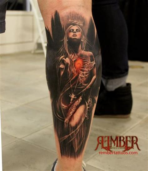 dark angel tattoo rember age studio tattoo1
