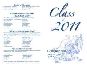 graduation program template sle program for kinder graduation just b cause