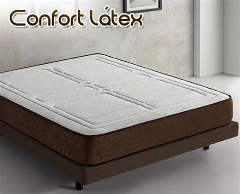 colchon confort colch 243 n de l 225 tex confort l 225 tex de home