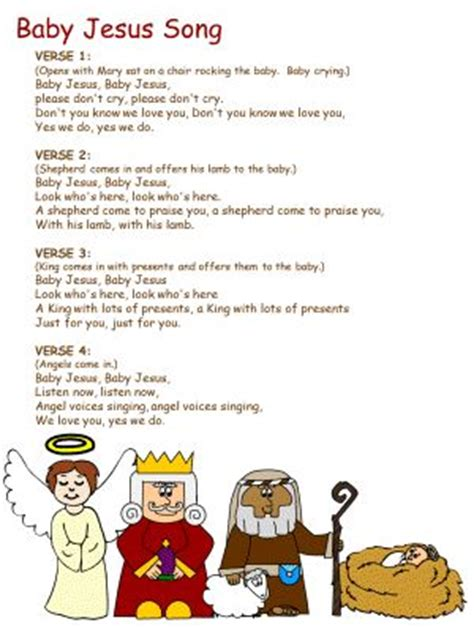 song for jesus baby jesus song performance crafts for