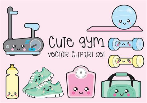 kawaii clipart premium vector clipart kawaii workout clipart kawaii