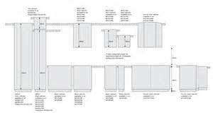 Wall cabinets with drawers fridge cabinets in different dimensions