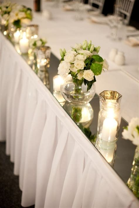 25  best ideas about Bridal table decorations on Pinterest
