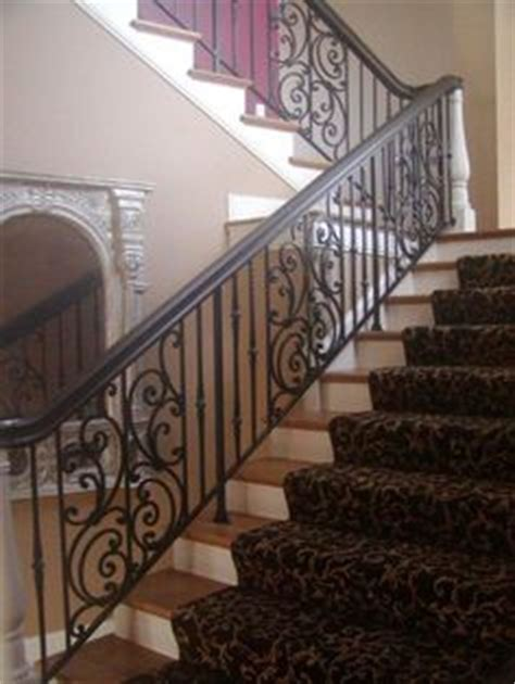 Custom Interior Railings by 1000 Images About Interior Iron Railings On