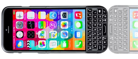 Typo 2 Keyboard Iphone 55sse Black typo 2 keyboard qwerty for iphone 6 6s black