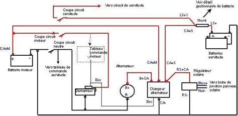 Tableau Electrique 4 Rangées 1988 by Schema Electrique Sun Fast 3200 Transquadra