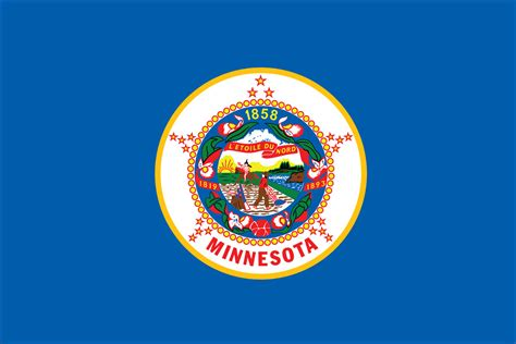 state pictures minnesota state flag flagnations