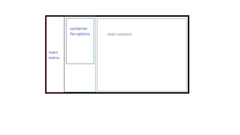 css layout vertical css jquery vertical menus with fixed place for submenu