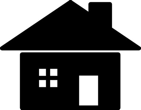 house silhouette house silhouette icon clip at clker vector clip royalty free domain