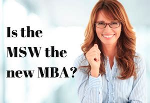 Msw And Mba the msw pivots to the business world msw usc
