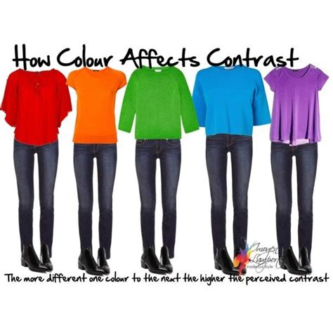 use color contrast to make how to wear medium value colours when you are high