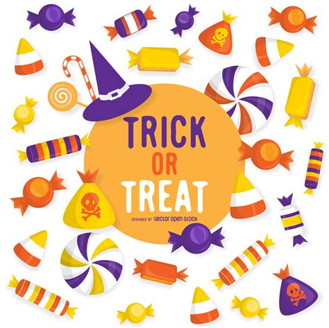 Trick Or Treat by Trick Or Treat Design Free Vector