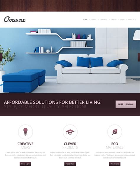 drupal templates responsive 5 of the best interior design drupal themes