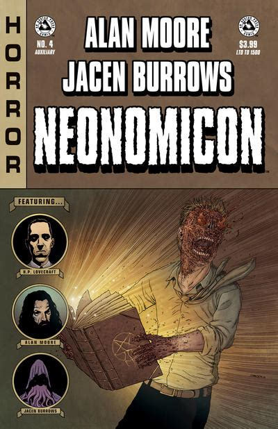 libro alan moores neonomicon avatar gcd cover alan moore s neonomicon 4