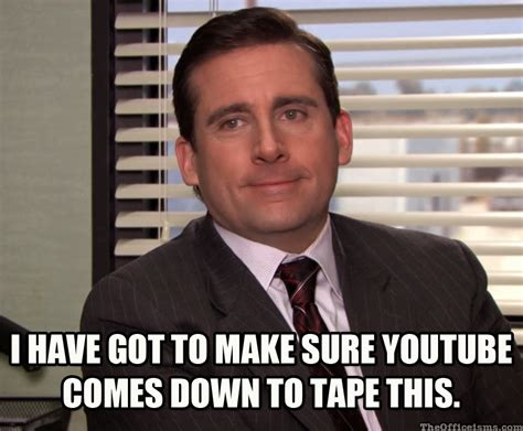 the office isms meme isms
