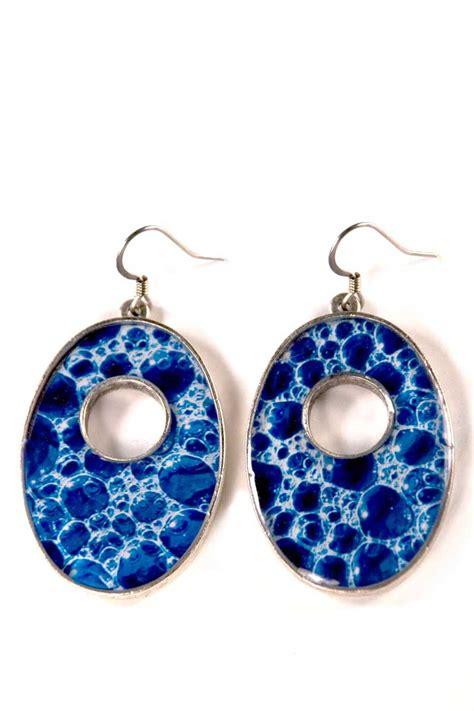 Blue Earring earrings blue earrings