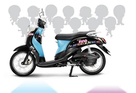 Pemundur Mio Fino Silver solomotormatic gambar detail fino yamaha scooter matic