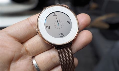 Time And Time Around pebble s time smartwatch sacrifices battery for