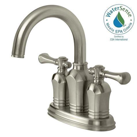 pegasus verdanza 4 in centerset 2 handle bathroom faucet