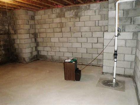 old basement sump pump