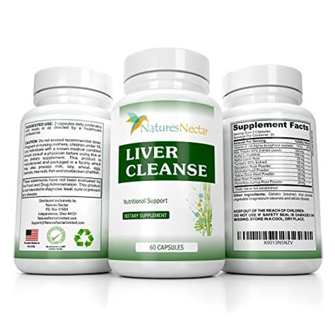 Artichoke Liver Detox by Liver Cleanse Detox Supplement Support Formula With