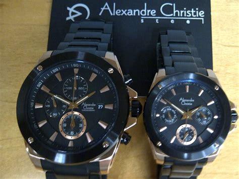 Jam Tangan Pria Alexandre Christie 500 Ribuan promo jam alexandre christie ac6247 black rosegold original