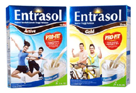 Entrasol Active Vanilla 160 Gr colourfull of my entrasol tinggi antioksidan