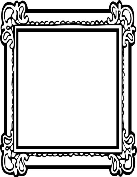 design frame outline ornate frame outline bordure pinterest