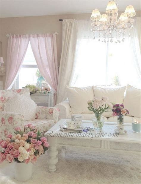 cottage chic style 25 charming shabby chic living room decoration ideas for creative juice