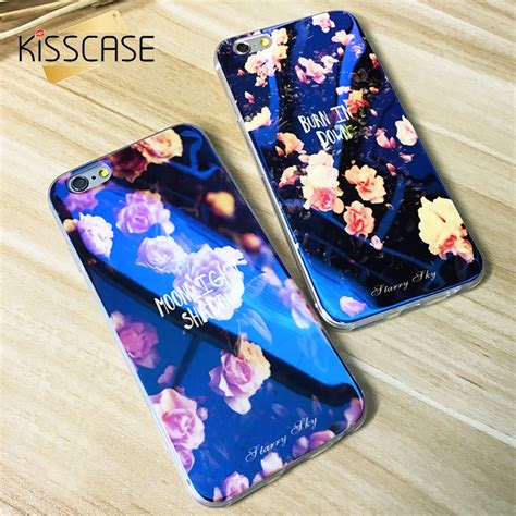 Best Deal Blue Light Softcase For Iphone 7 8 Blue soft tpu glitter for iphone 7 6 6s 6 plus 5 5s blue light silicon back cover ultra