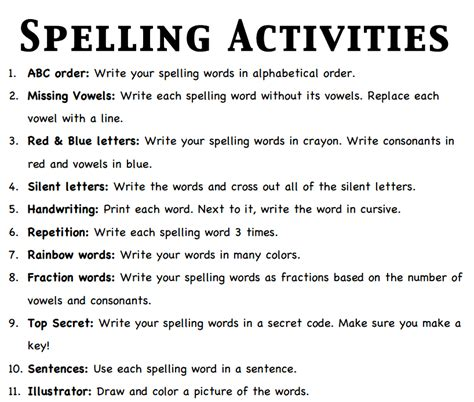 printable spelling games ks2 spelling homework activities ks2 free printable spelling