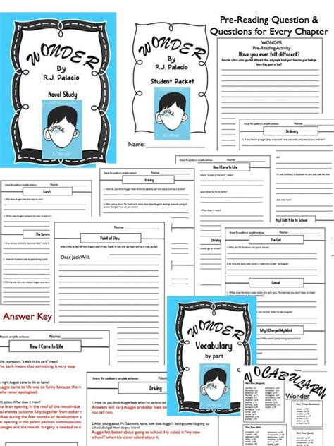 learning herbalism workbook books r j palacio novel study questions vocab writing