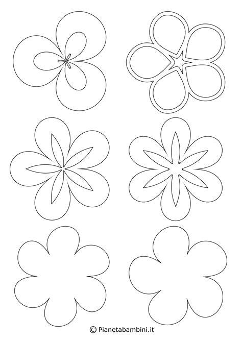 fiori da ritagliare e colorare lusso disegni da colorare stare e ritagliare concetto