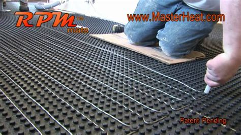 in floor heating radiant heating rpm do it yourself