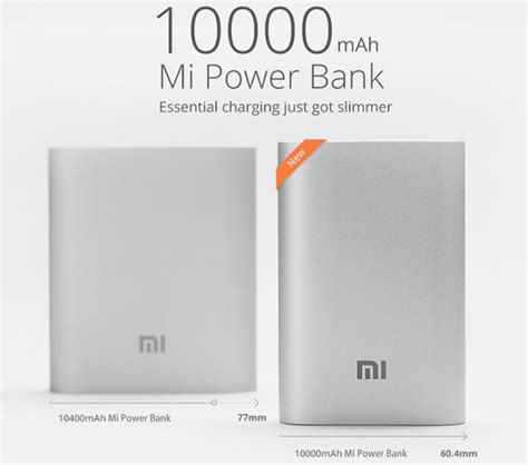 Powerbank Xiaomi 1000mah xiaomi introduces new 10000mah compact power bank