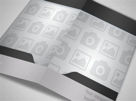 blank bi fold card template blank bi fold brochure template 7889mb