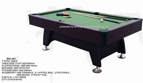 Foot Pool Table by China 7 Foot Pool Table G 10 China Billiard Table