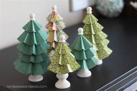 festival of trees folded paper trees landeelu