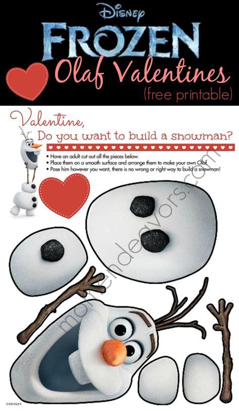 olaf printable valentines day cards disney frozen free printable olaf valentines