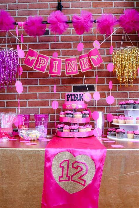 pink theme decorations 25 best pink birthday ideas on