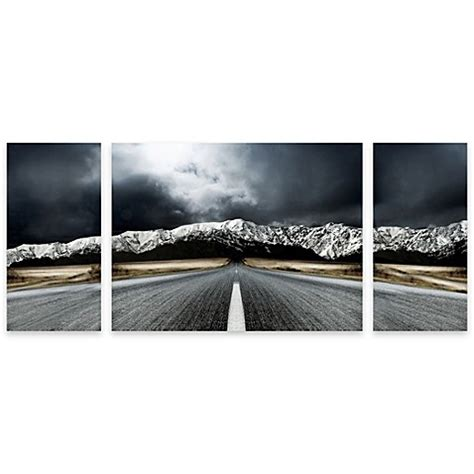 bed bath and beyond paintings open road panel art bed bath beyond
