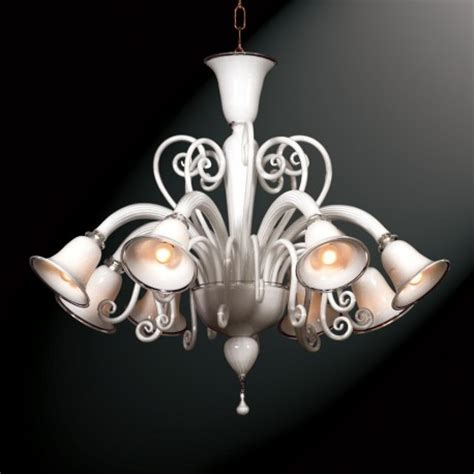 primavera 8 lights murano glass chandelier murano glass quot quot 8 lights white murano glass chandelier murano glass chandeliers