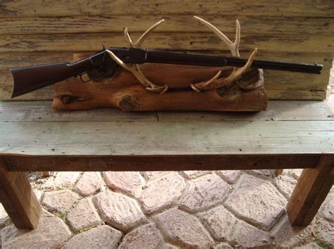 deer antler gun rack craft diy