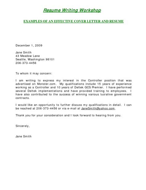 cover letter statement of interest best photos of brief letter of interest cover sle