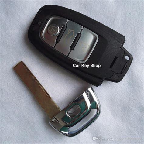 audi a5 key smart remote key shell 3 botton for audi a4l a6l a5