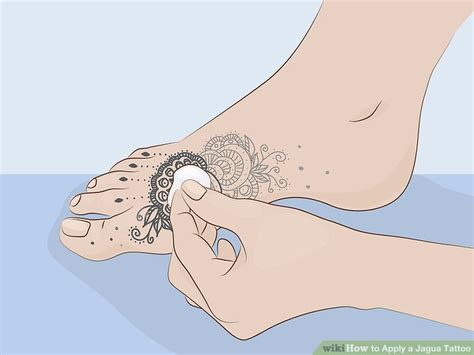 jagua tattoo removal how to apply a jagua 14 steps with pictures