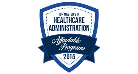 Louisiana Mba Programs by Healthcare Administration Mba Program Cited For