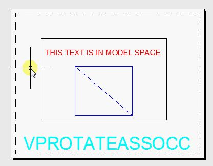 rotate layout view autocad rotate viewport autocad tips